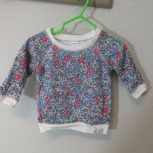 Girls cater 3 month sweater with front pockets